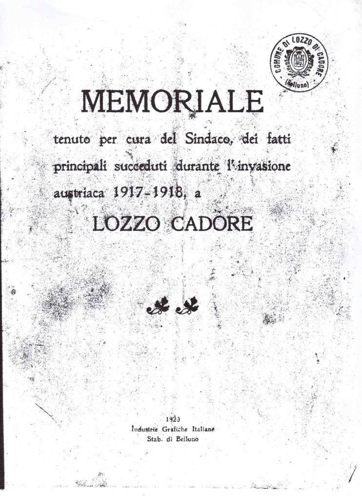 memoriale sindaco